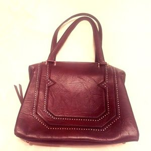 BCBGeneration Elegant Maroon Shoulder Bag NWOT